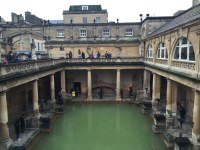 The Roman Baths!