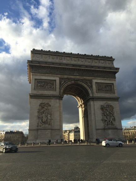 The majestic Arc de Triomphe!
