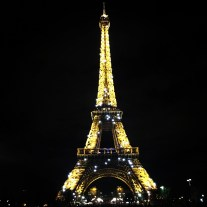 I almost cried when I saw the Eiffel Tower sparkle again. It was just as beautiful as I remembered!