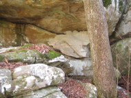 Cherokee Grotto where Henry proposes to Virginia.
