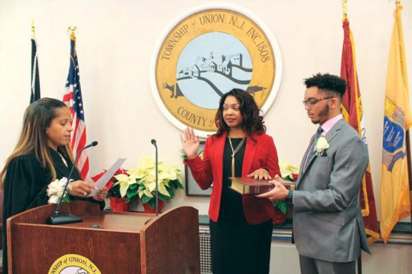 Delisfort takes oath as Union's first black woman mayor