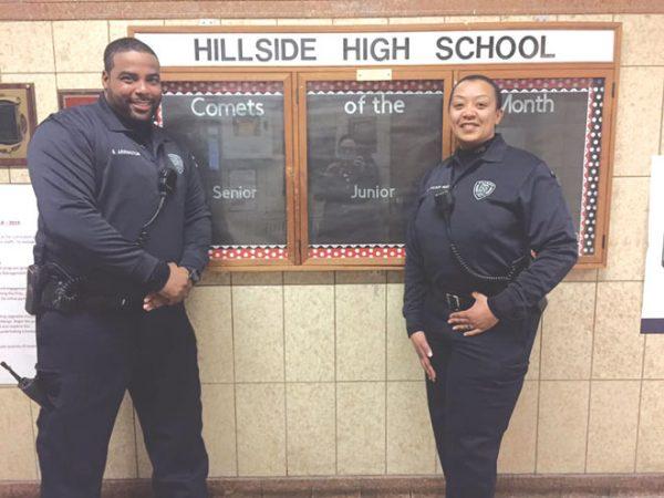 Hillside schools hire two cops, disarms guards