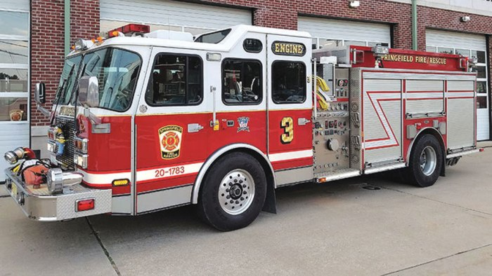 Springfield to spend $754,000 for new fire truck