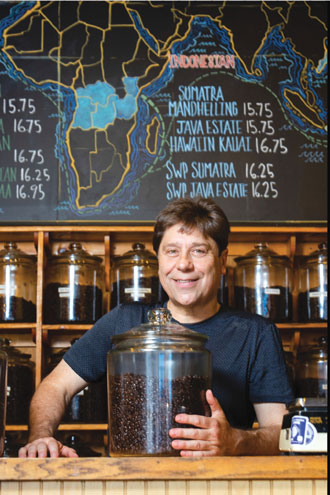 Local coffee shop owner commemorates 30th anniversary of long, winding career