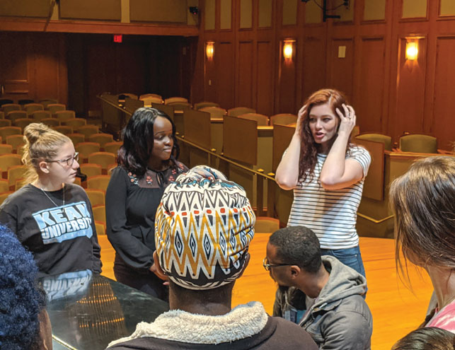 Deaf singer Mandy Harvey brings her inspirational message to Kean University