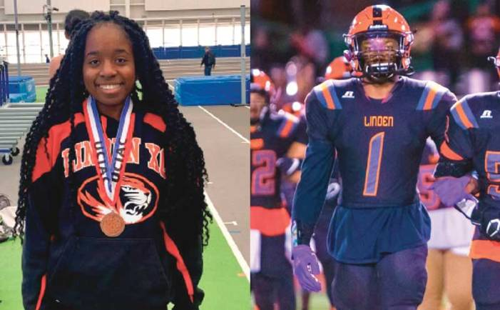 Linden High School seniors honored as outstanding scholar-athletes