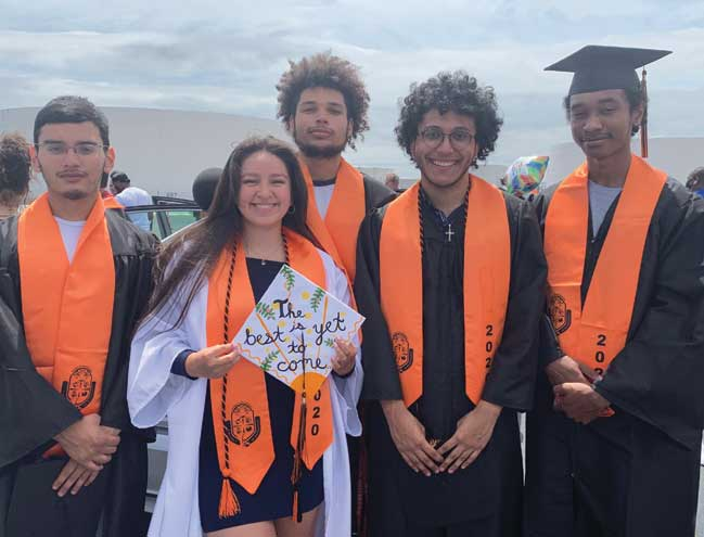 Linden HS pulls off graduation ceremony in historic fashion at Linden Airport