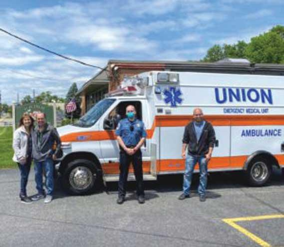 Union Emergency Medical Unit kicks off summer with new ambulance