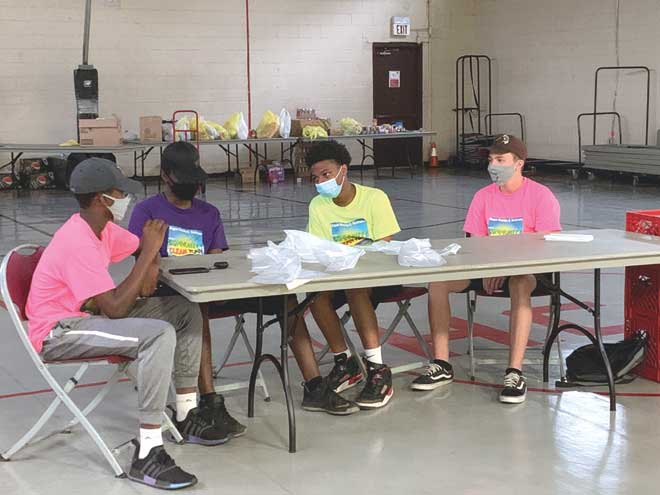 Hillside Clean Team program a hit with teenagers