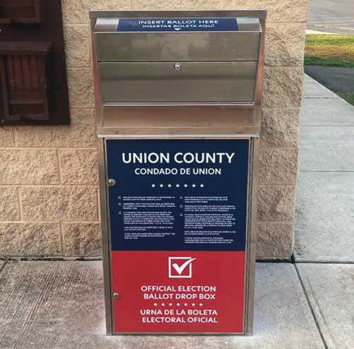 22 secure ballot drop boxes installed in county