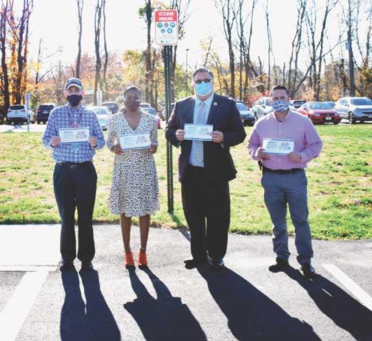 Freeholder board designates parking for veterans