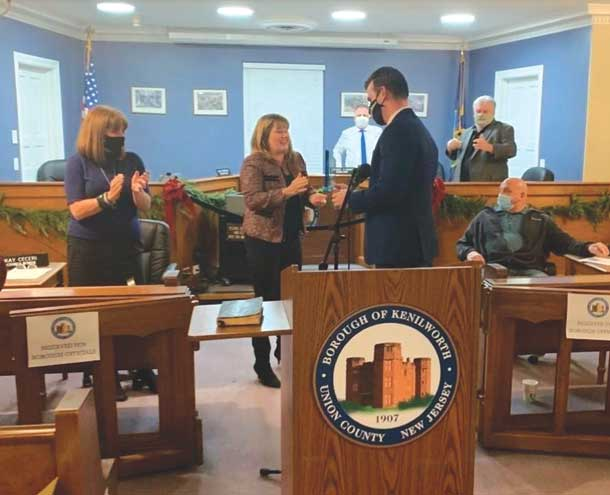 Kenilworth superintendent of schools named borough's Employee of the Year