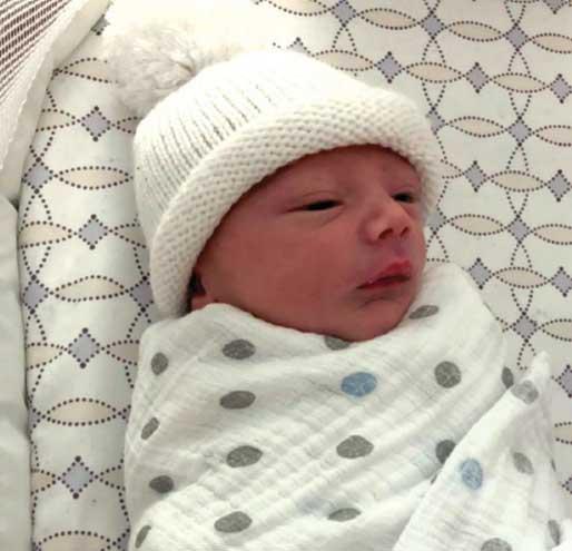 Birth announcement: Aedan Thomas Petruzzelli