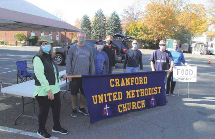 Cranford drive-through food collection events continue