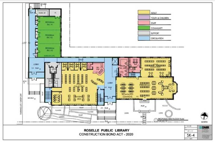 Roselle Public Library expansion progresses through a new county partnership
