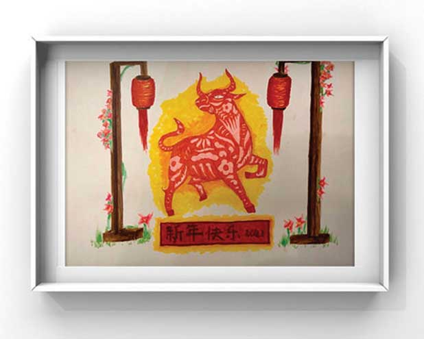 Summit Library, Chinese Club co-sponsor art show to celebrate Lunar New Year