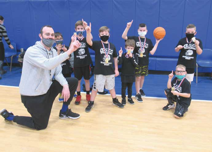 Clark concludes its winter recreational basketball season with medals