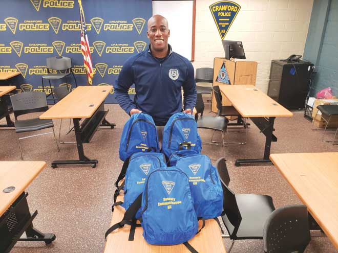 Sensory communication kits deployed in police officers' vehicles