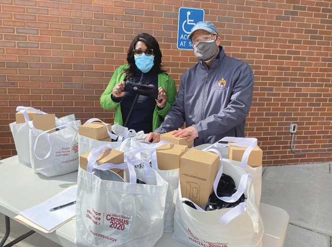 Roselle businesses receive PPE through Neighborhood Preservation Program