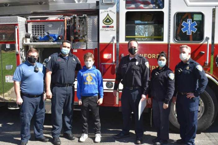 Residents escape house fire thanks to Cranford boy's heroism
