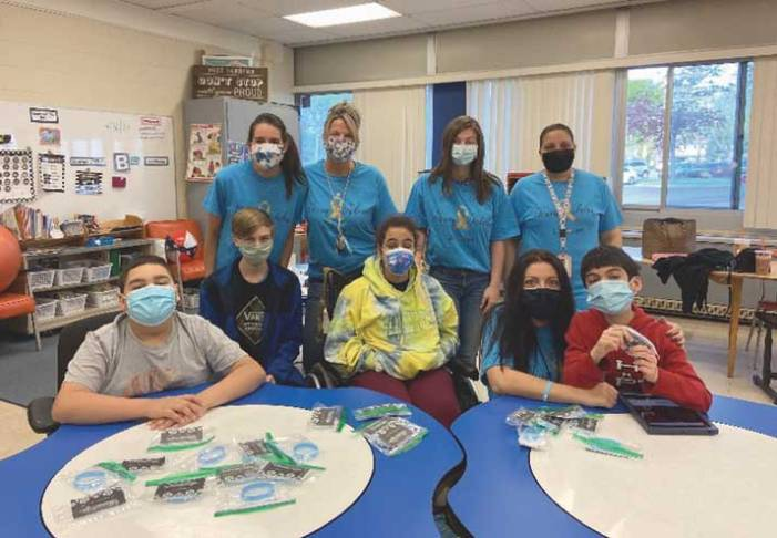 Kumpf students raise money for classmate