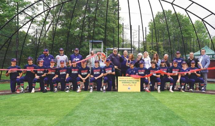 Union County cuts ribbon on new turf baseball field in Berkeley Heights