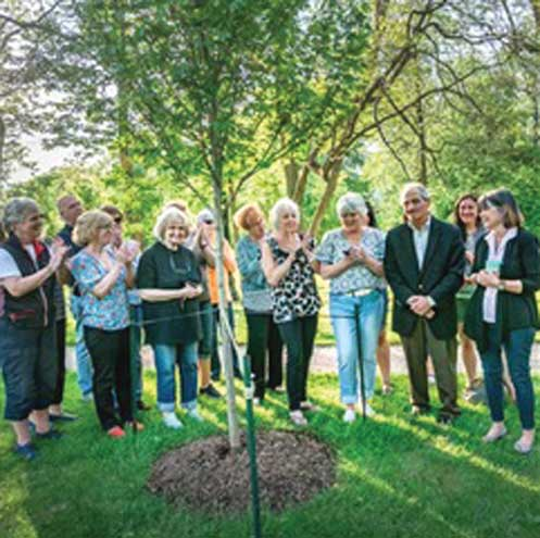 Founding trustee honored by Hanson Park Conservancy in Cranford