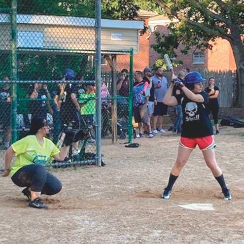 Clark women's softball league had great season