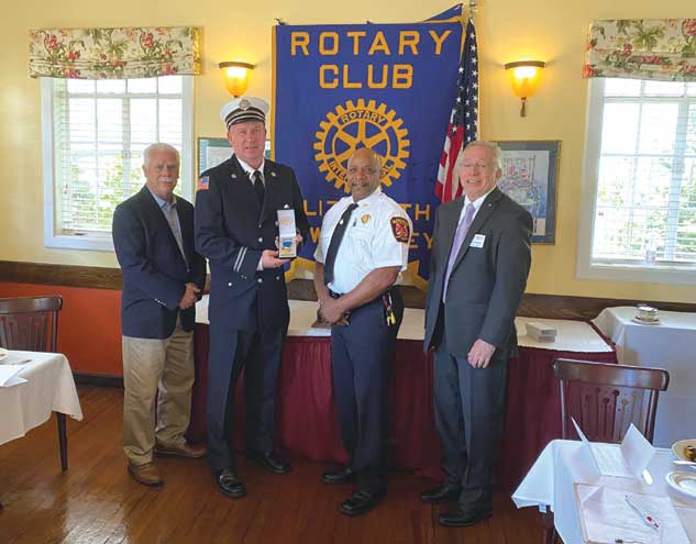 Elizabeth Rotary names Fireman and EMT of the Year
