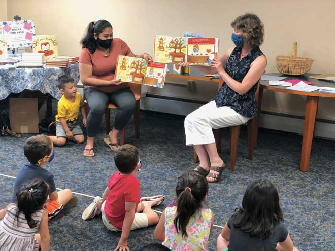 Love is kind in any language at Kenilworth Public Library