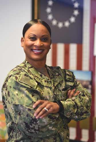 Linden native serves at U.S. Navy's prestigious Senior Enlisted Academy