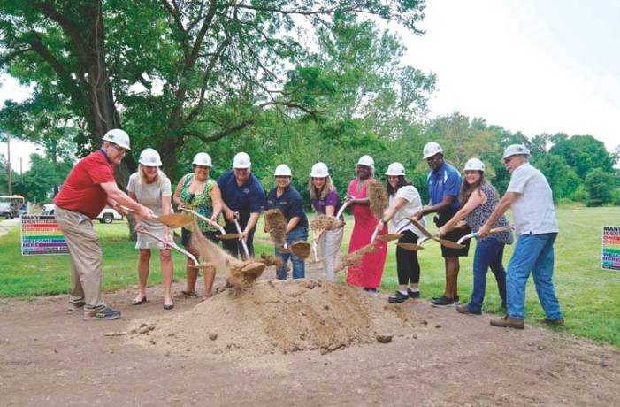 County commissioners break ground on inclusive affirmative park space in Plainfield