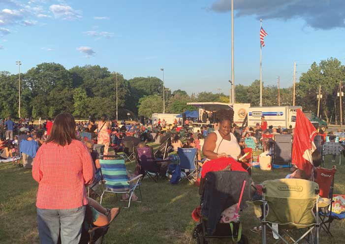 Enthusiasm overflows at Union Township's Fourth of July extravaganza