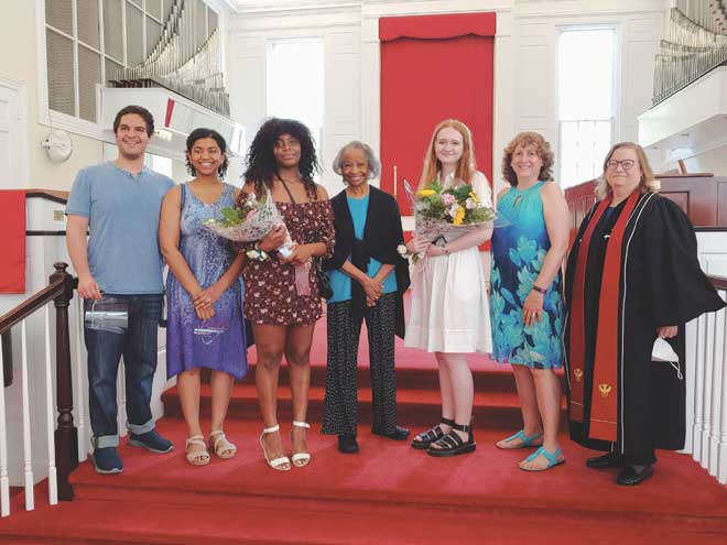 2021 Marc Wesley Hardy Human Rights Award presented to two area students