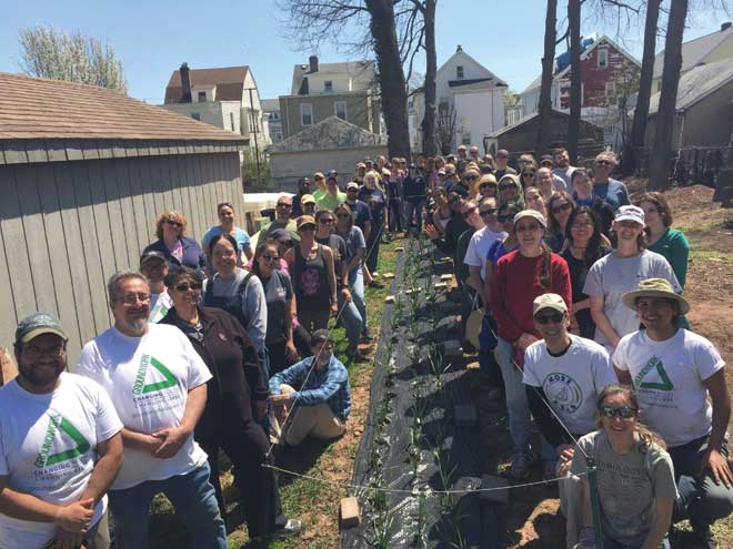 First Presbyterian Church of Westfield youth join Groundwork
