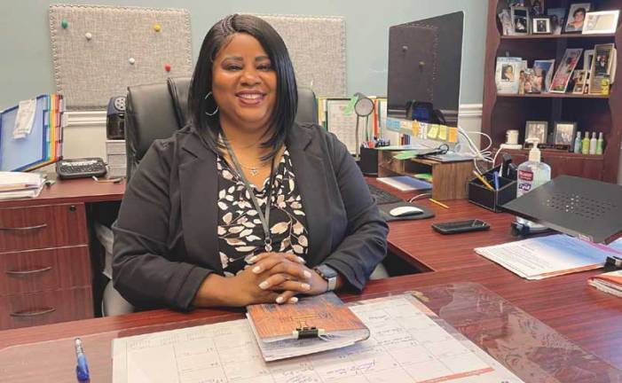 New principal says Linden middle school is her home and her heart