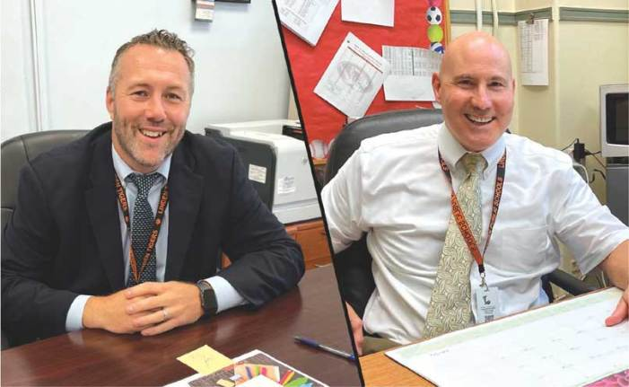 Vice principals rotate into new positions in Linden Public Schools