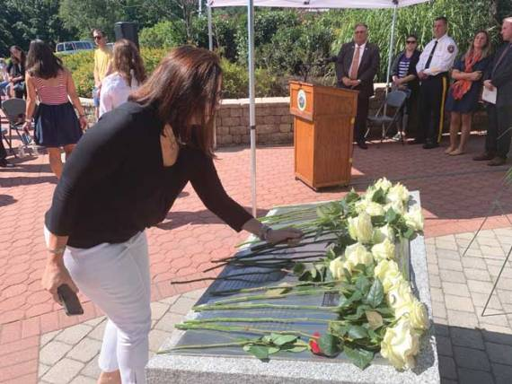 Union County commissioners remember Sept. 11 at anniversary ceremony