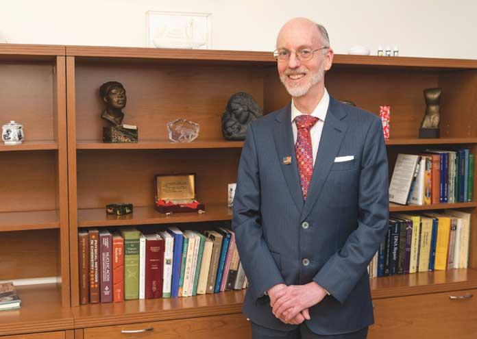 Kean University senior VP awarded top science research honor