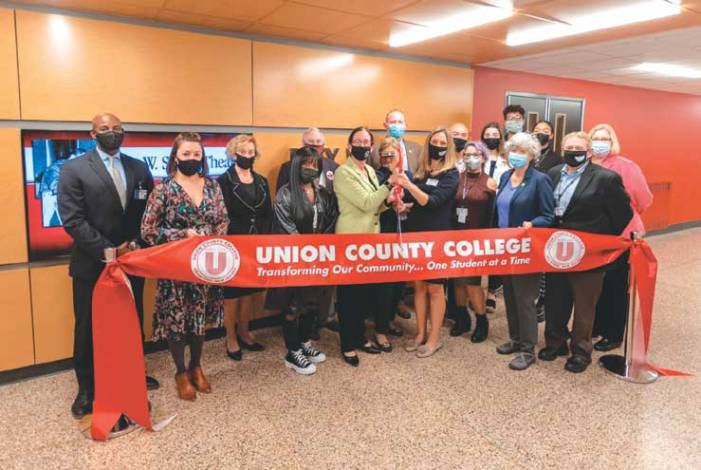 Union County College celebrates completion of Roy W. Smith Theater renovation