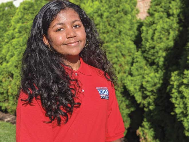 Rahway student one of 36 selected as Scholastic Kid Reporter