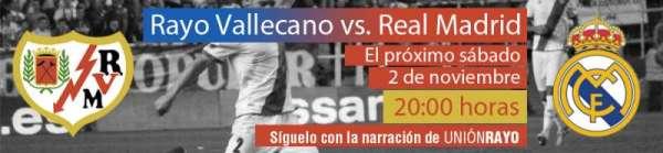 Rayo-Real madrid