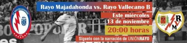 Rayo Majadahonda-Rayo B