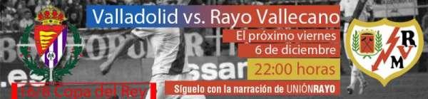 Valladolid-Rayo Copa