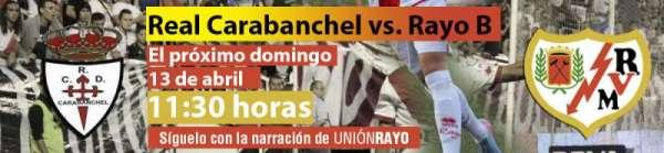 Real Carabanchel - Rayo Vallecano B