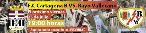FC Cartagena - Rayo Vallecano
