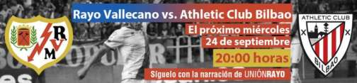 Cabecera Rayo Vallecano - Athletic de Bilbao