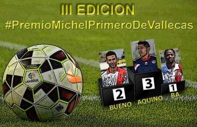 Cartel Premio Michel Primero deVallecas JR2