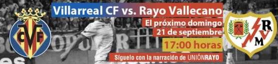 Villarreal - Rayo
