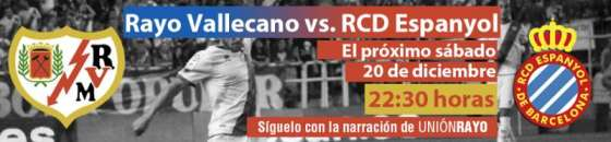 Cabecera Rayo Vallecano - Espanyol